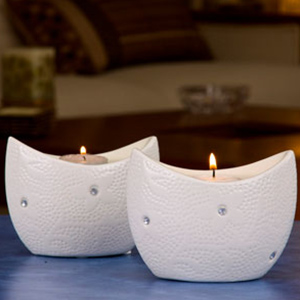 Candles & Candle Stands-Arctic Boat Tea Light Holder