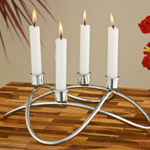 Roller Coaster Candle Holder