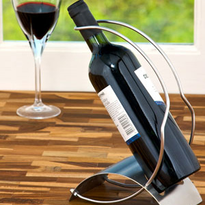 Twin Bar Wine Holder