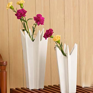 Vases-Star Angular Effect Vase