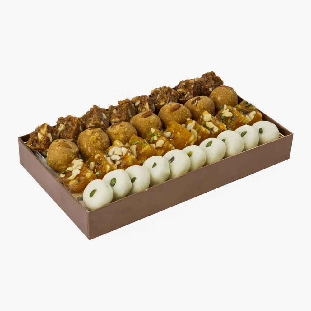 Assorted Mithai-Bikanervala Traditional Decadence Box