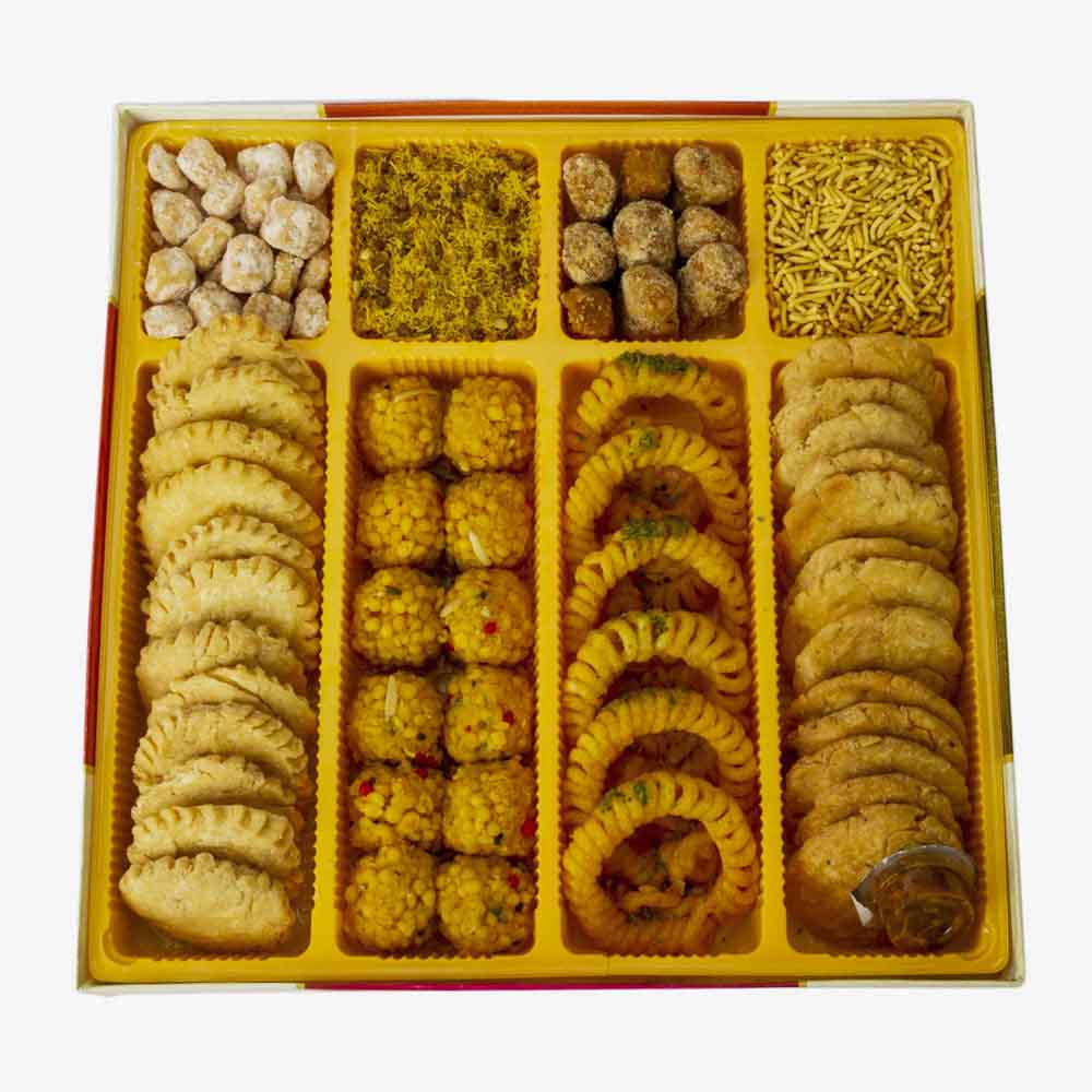 Assorted Mithai-Bikanervala Traditional Indian Touch Sweets box