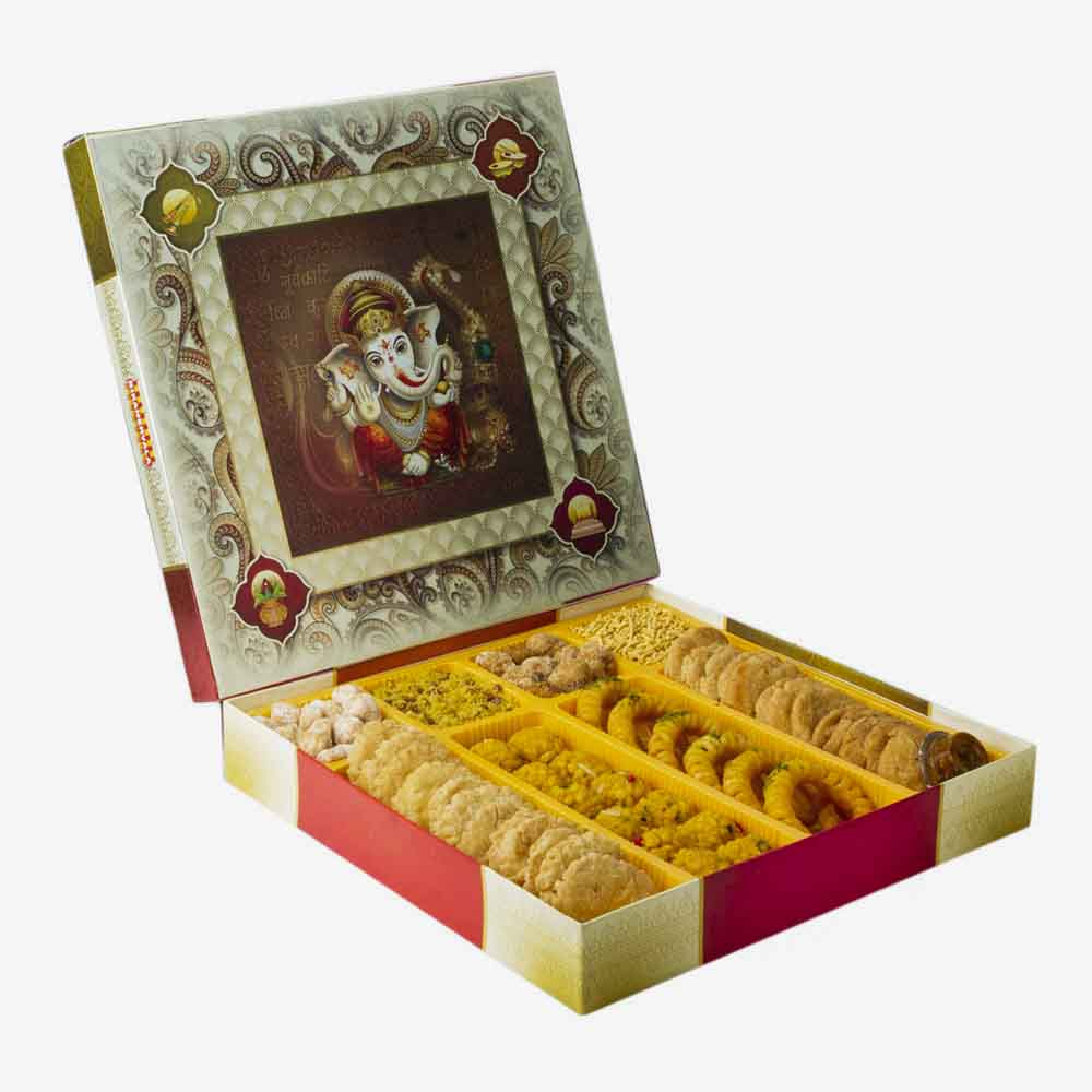 Bikanervala Traditional Indian Touch Sweets box