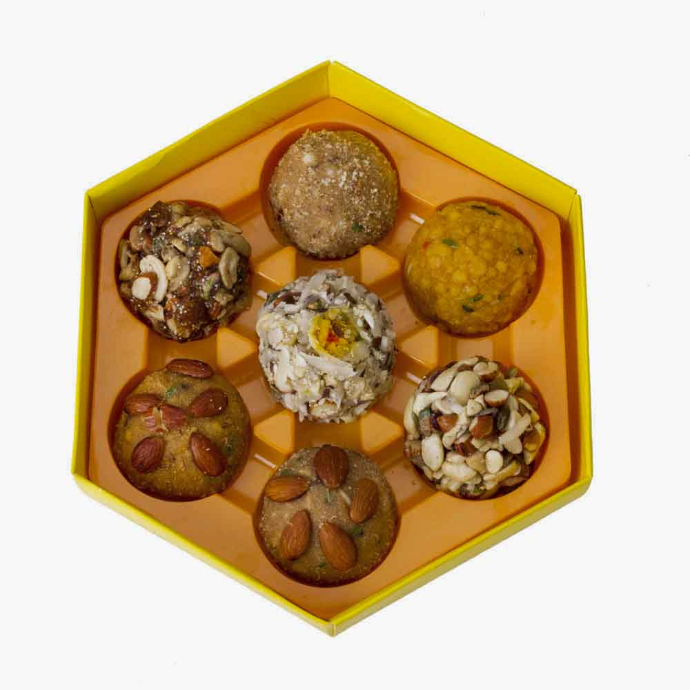 Bikanervala Assorted Mix Shahi Laddoo Delight