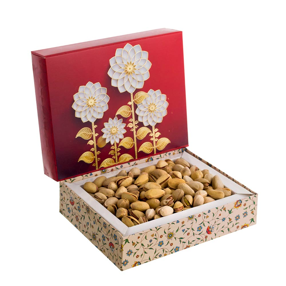 Happy Red Roasted Pistachios Gift Box