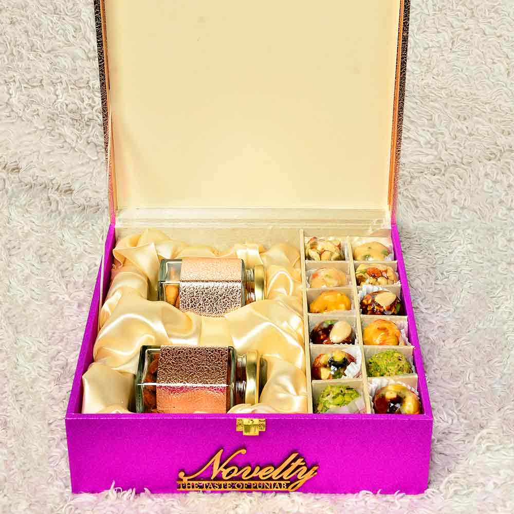 Dry Fruit & Premium Sweets Box