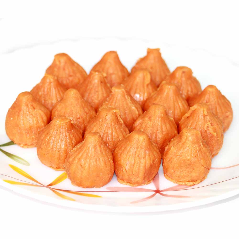 Orange Biscuit Modak
