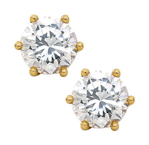 Diamond Ear Studs