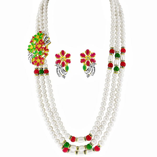 Pearl Sets-Jpearls Special Peral Necklace Set