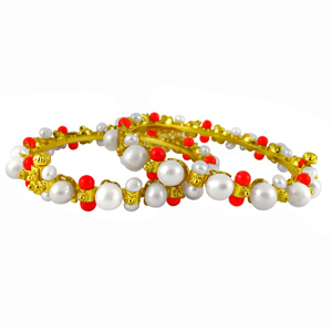 Pearl Bangles-Jpearls Lovely -Dovey Bangles