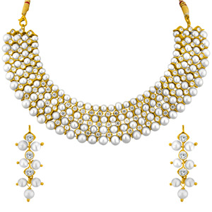 Pearl Sets-Jpearls Gracious Necklace Set