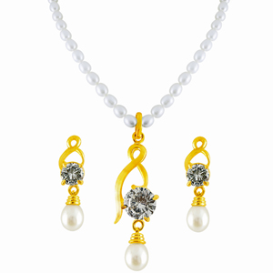 Pearl Sets-Jpearls Treasury Pearl Pendant Set