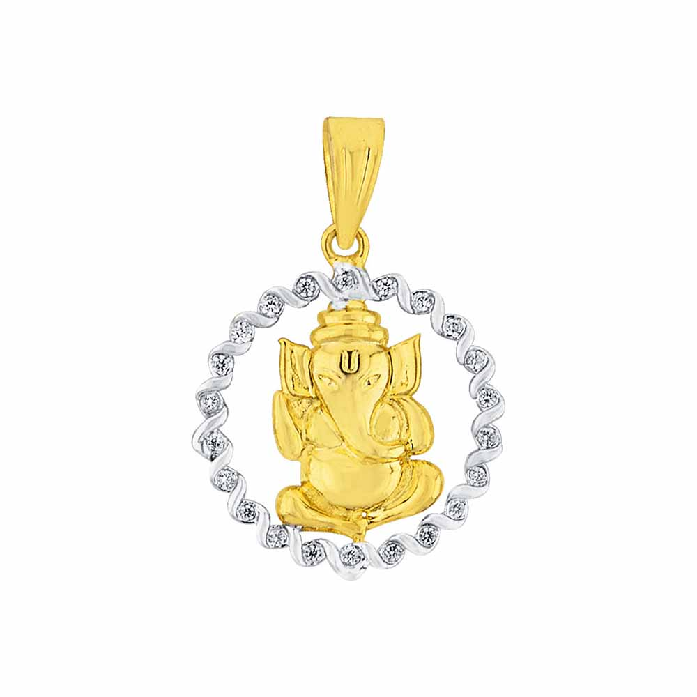 Diamond Pendants-Shambhavi Diamond Pendant