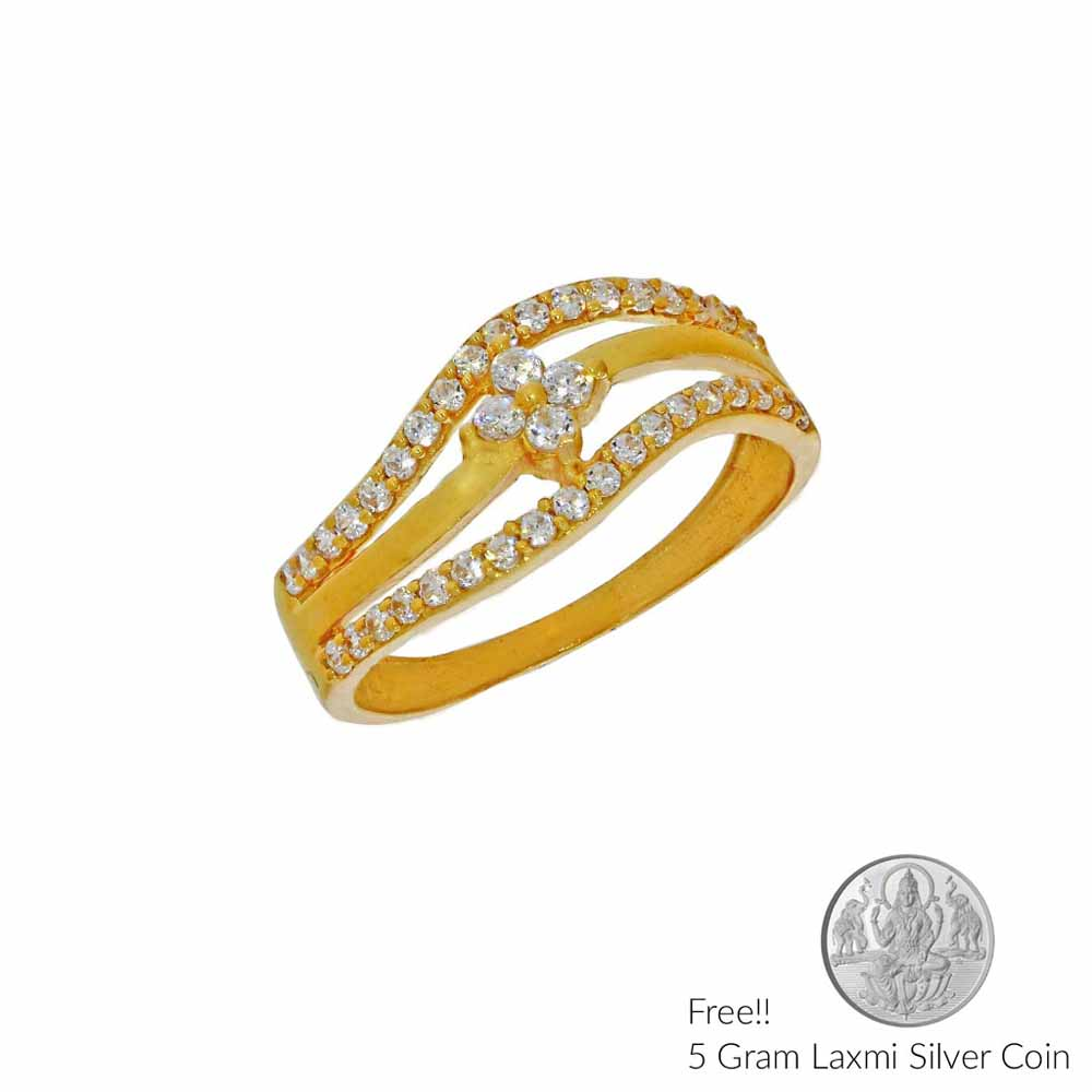 Gold-Eminence Gold Finger Ring