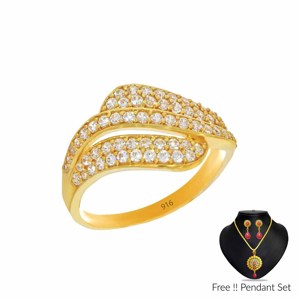 Gold-Luxuriousness Gold Finger Ring