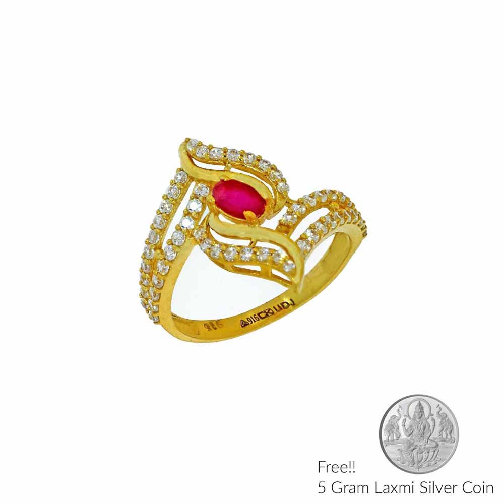 Gold-22Kt Gold Finger Ring