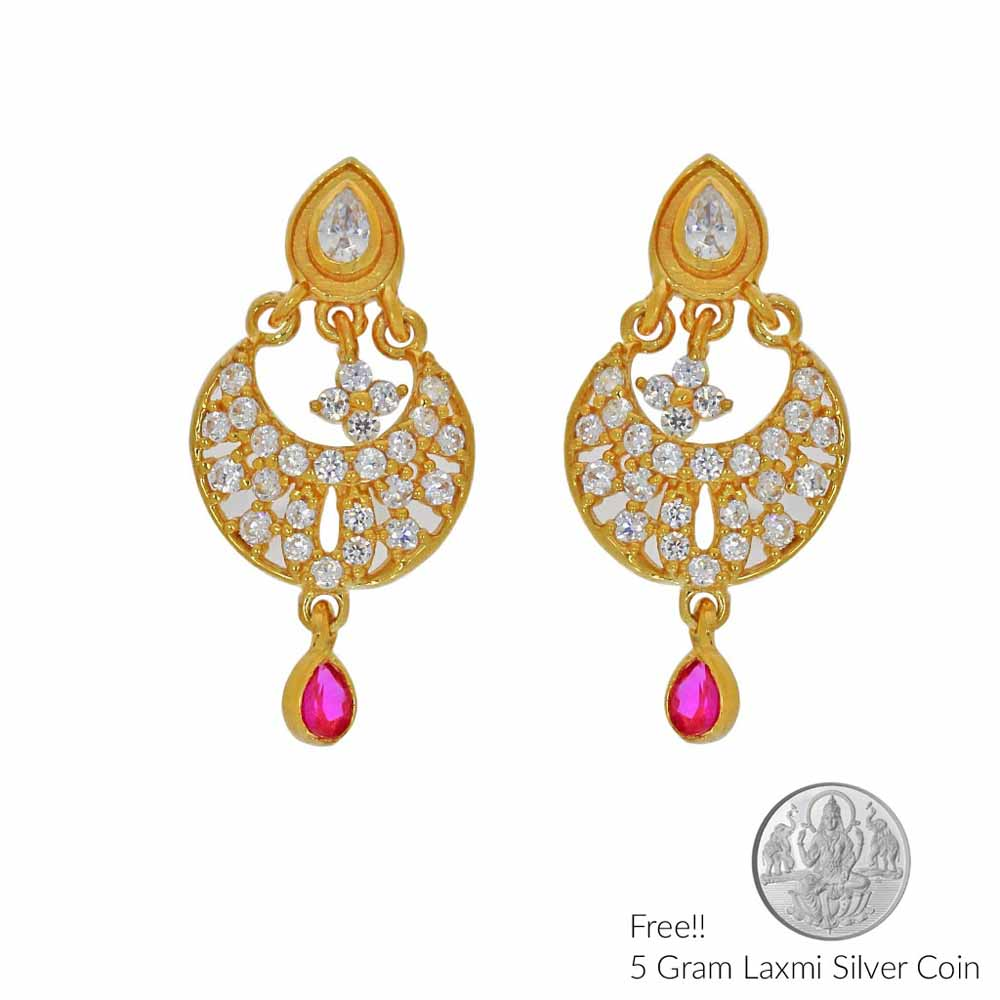 Hellacious 22Kt Gold Earrings