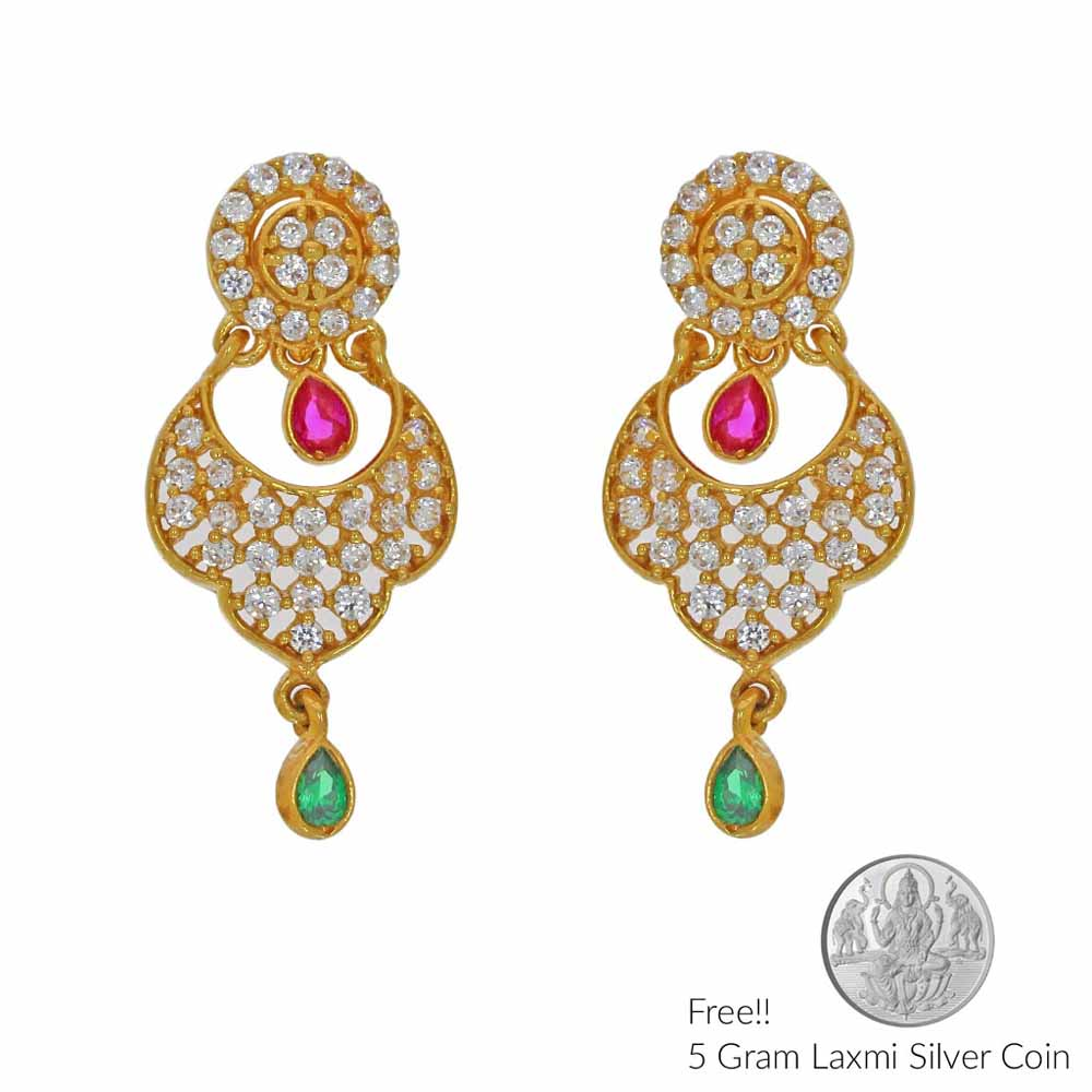 Memorable 22Kt Gold Earings