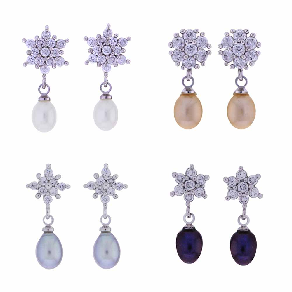 Shining Star Drop Earrings