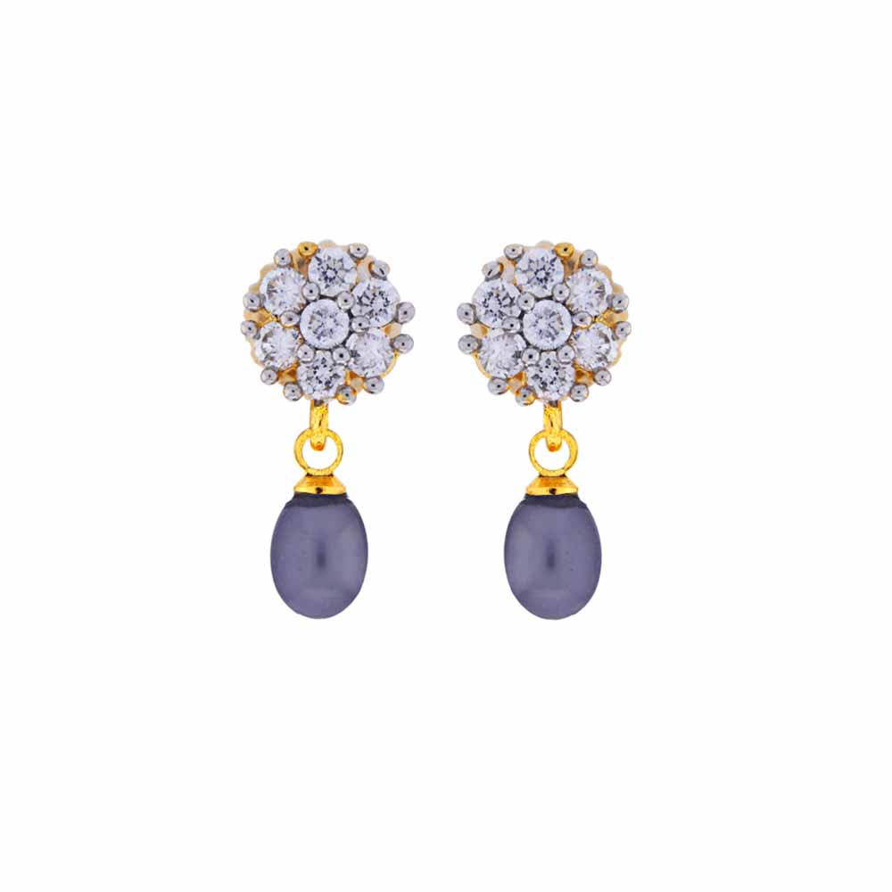 Surat Diamond Jewelry-Special Drop Earrings