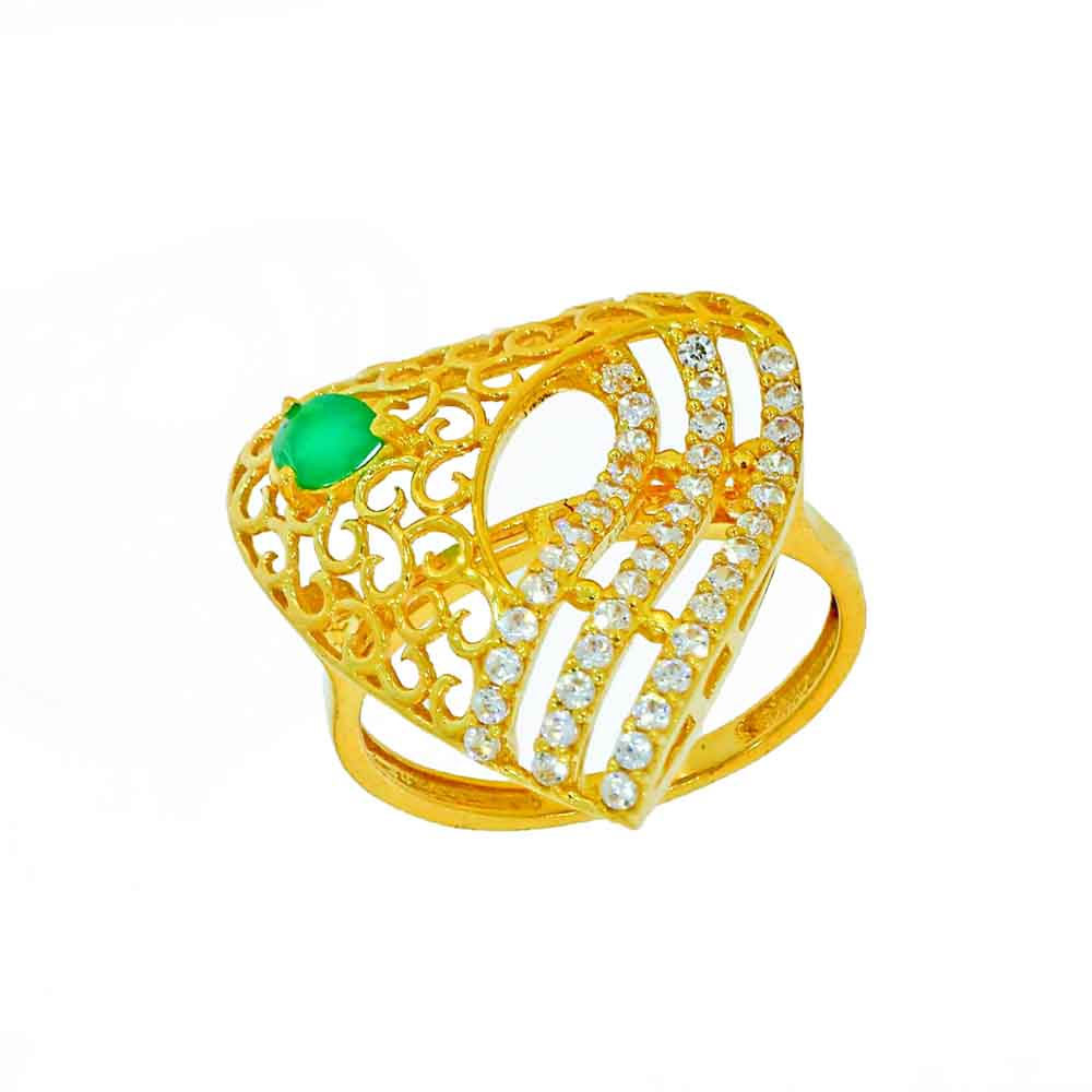 Gold-22kt Gold Startling Finger Ring