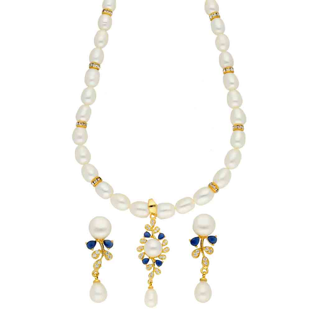 Pearl Necklaces-Elegance Pearl Necklace