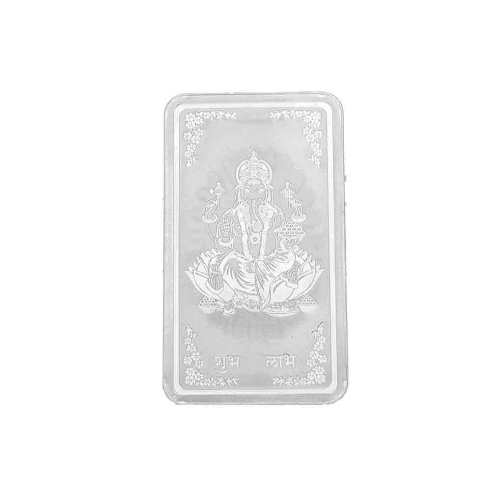 Bar Laxmi Silver coin