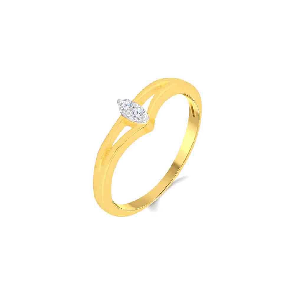 Diamond-18Kt Niyaz Diamond Finger Ring