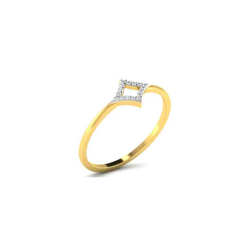Diamond-18Kt Maira Diamond Finger Ring
