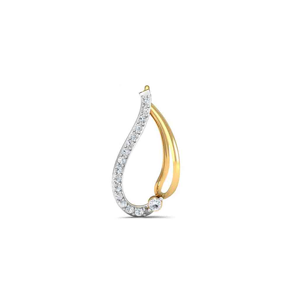 Diamond Pendants-18Kt Bloom Diamond Pendant