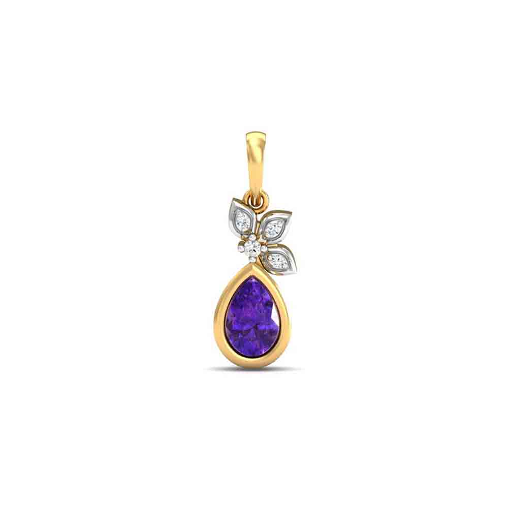 Diamond Pendants-18Kt Diamond Nirala Pendant