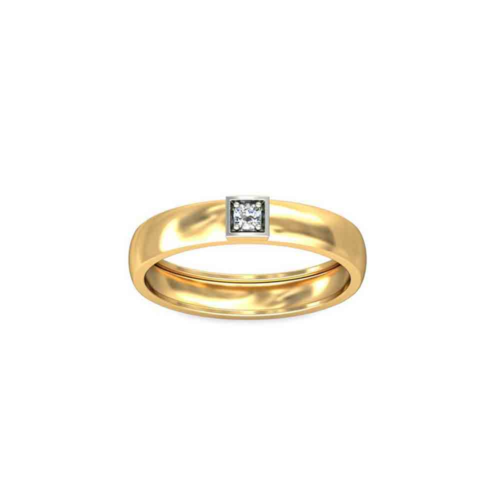 Diamond-18Kt Everlasting Men? Diamond Finger Ring