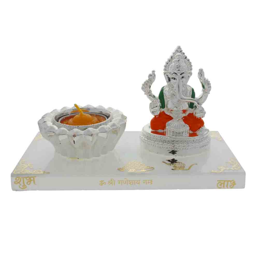 Lord Ganesh Idol Stand: