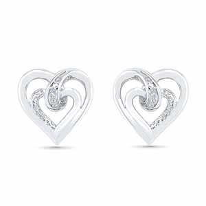 Diamond Earrings-Angel Of My Heart Diamond Earring