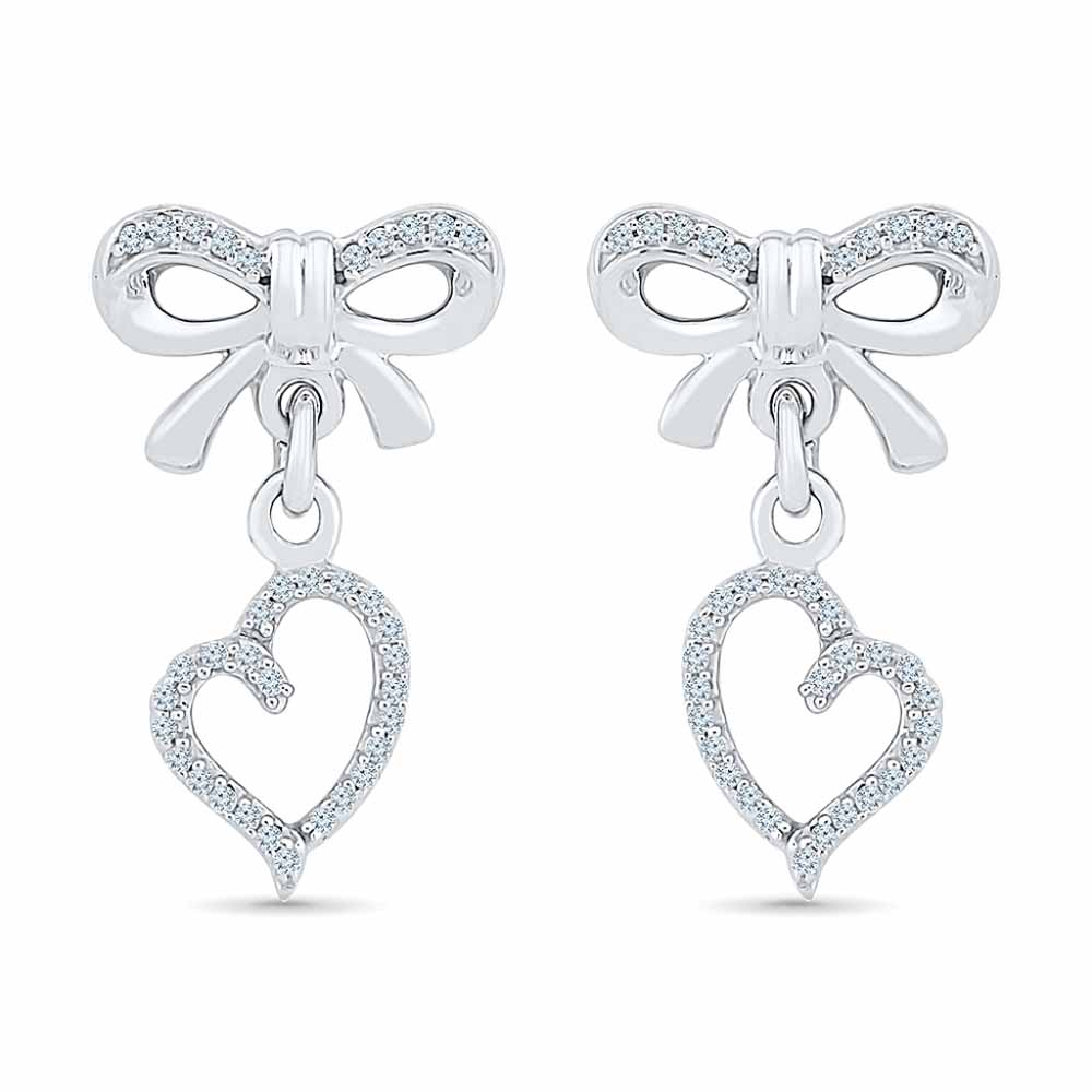 Angel Of My Heart Diamond Earring