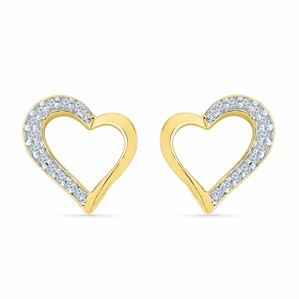 Valentines Special Diamond Earring