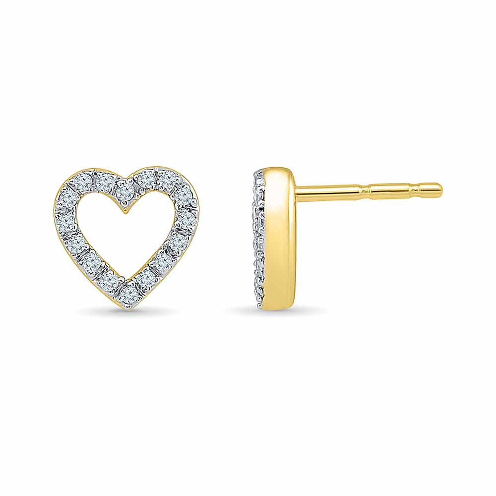 0.16 Carat Diamond Earring