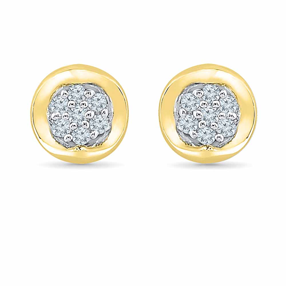 Round Shape Diamond Studs
