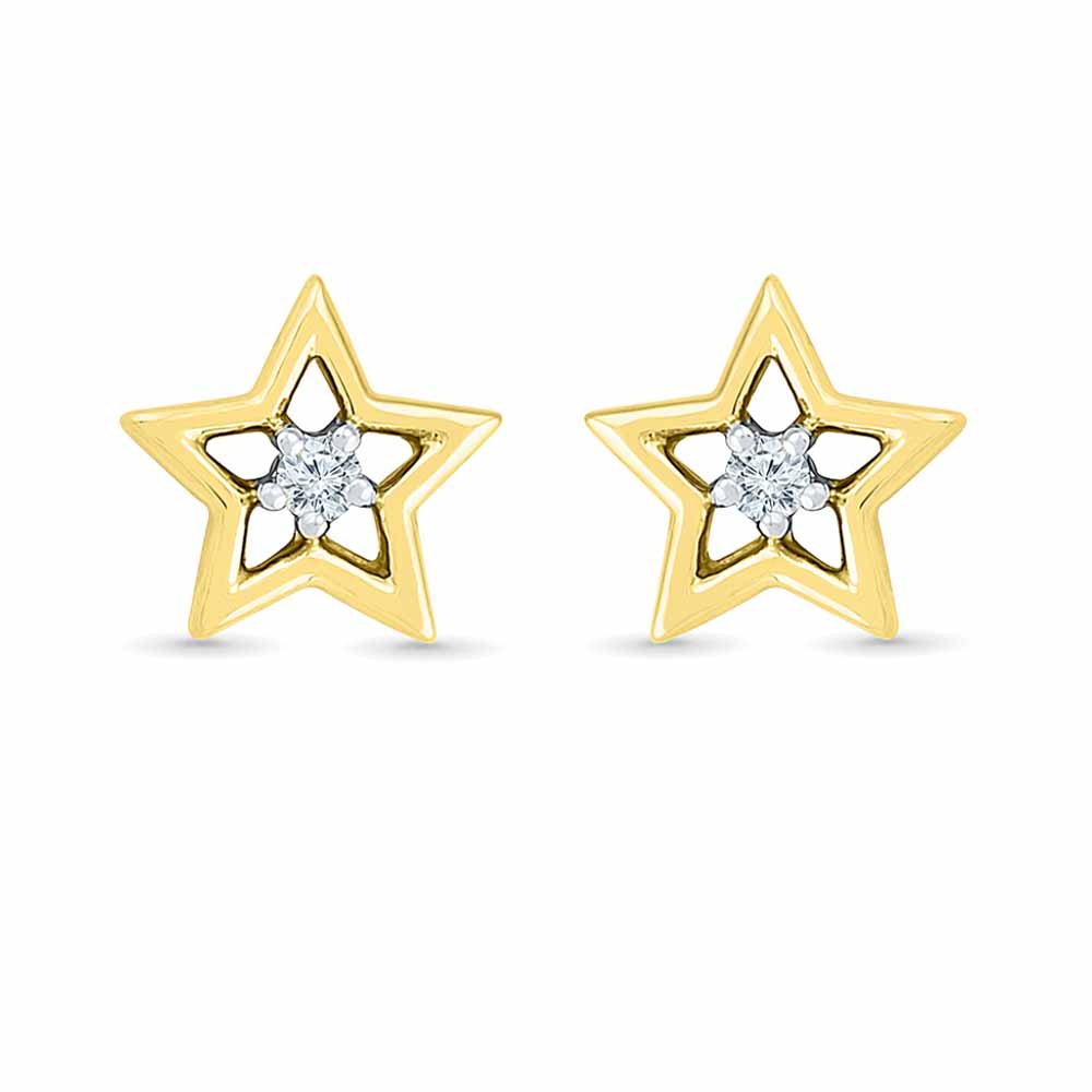 Star Share Diamond Studs