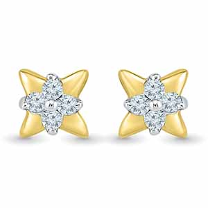 Diamond Earrings-Rathika Diamond Earrings