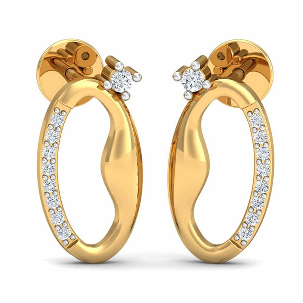 Afreen 0.11Ct Diamond Earrings