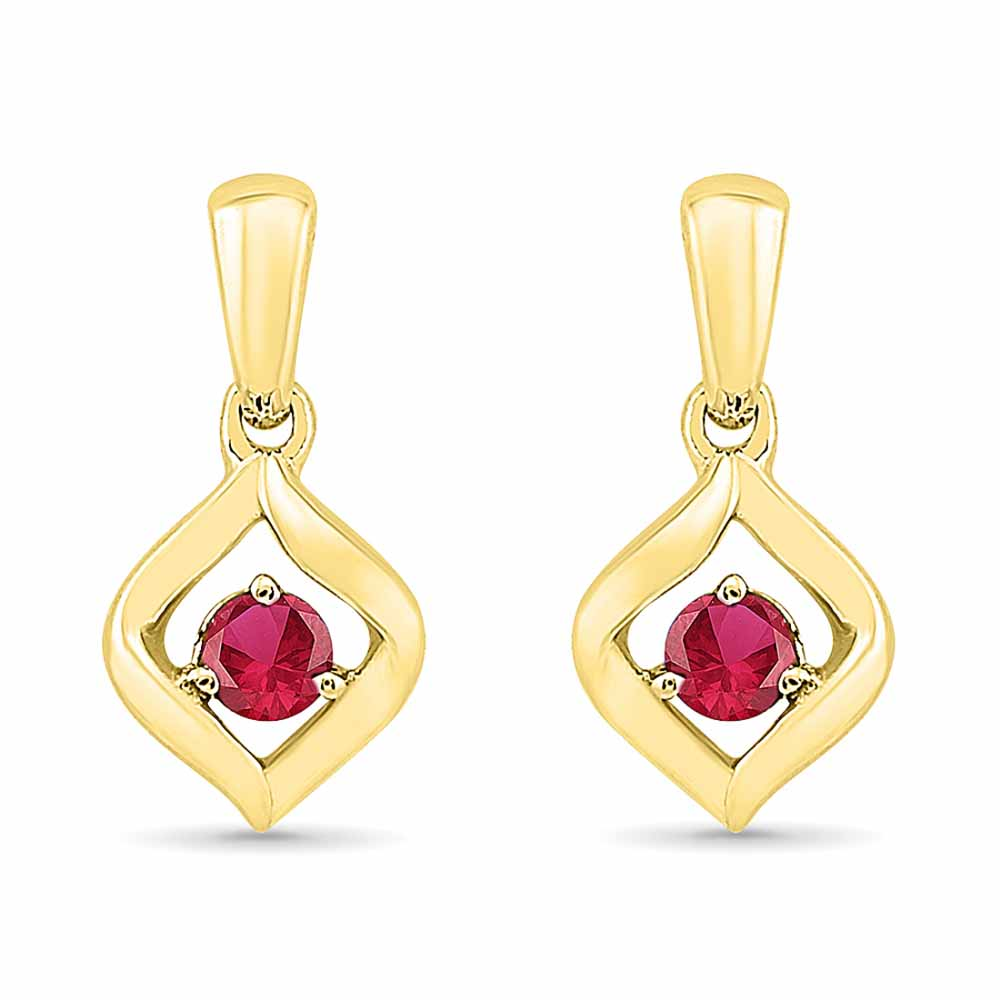 Exciting Ruby Earringss