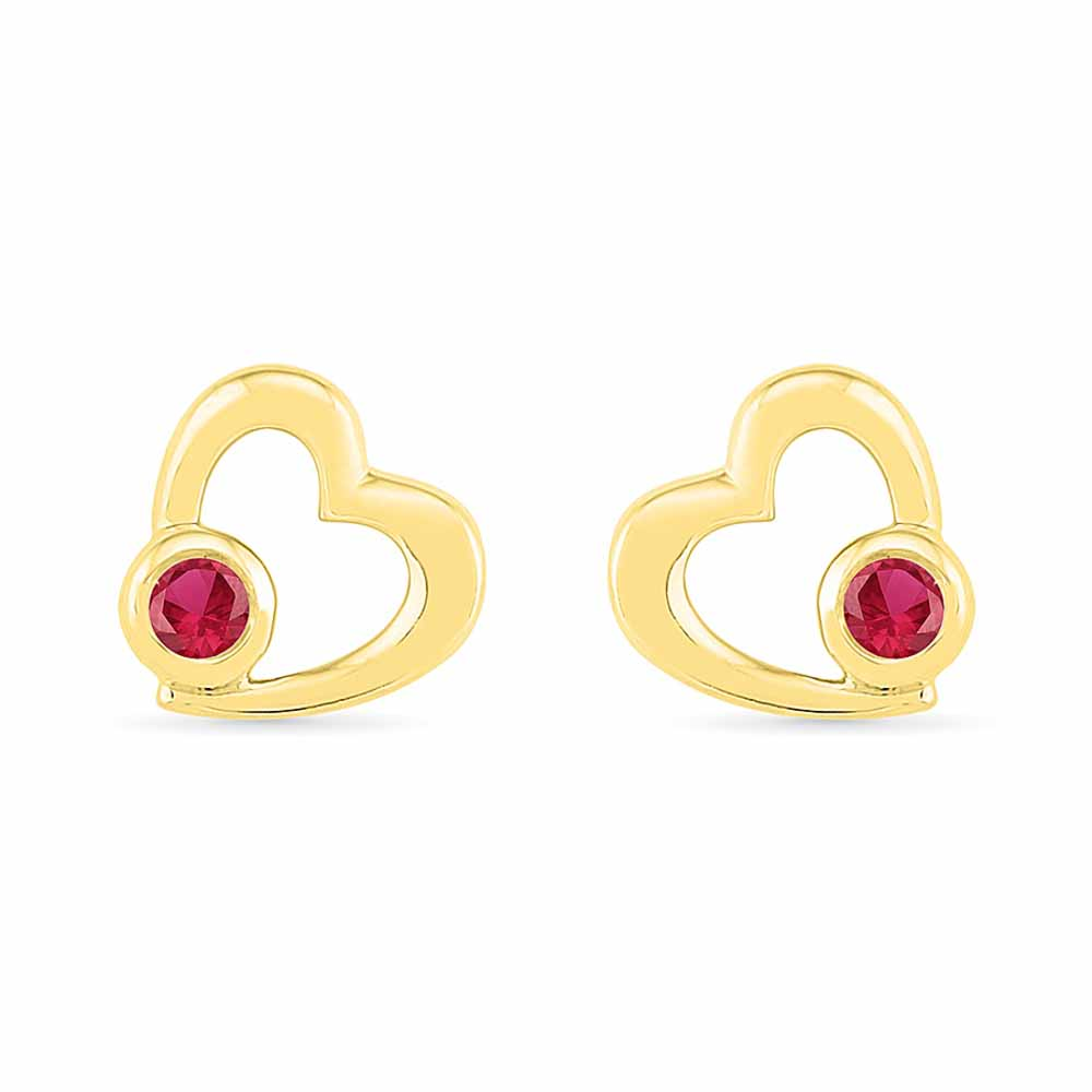 Valentine Special Ruby Earrings