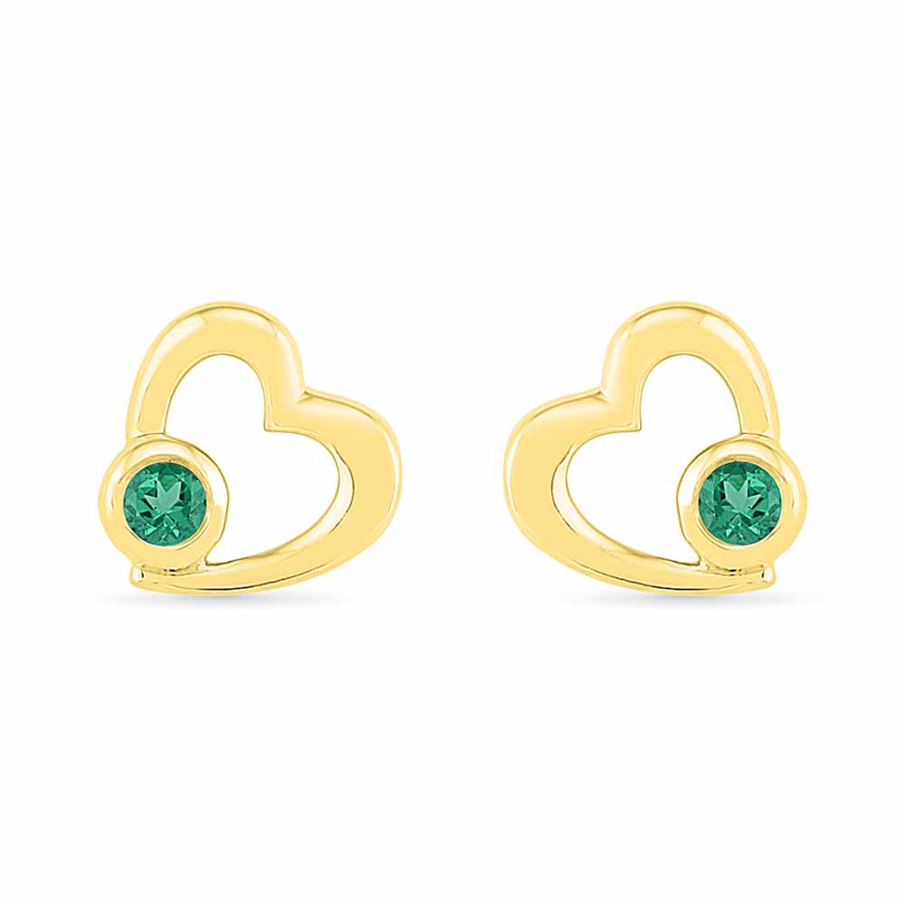 Dazzling Emerald Earrings