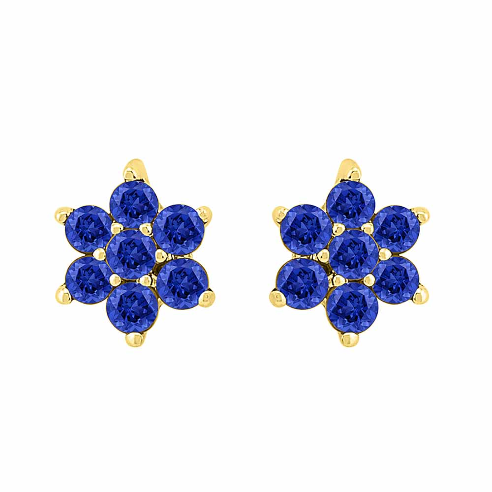 Unbelievable Blue Sapphire Earrings