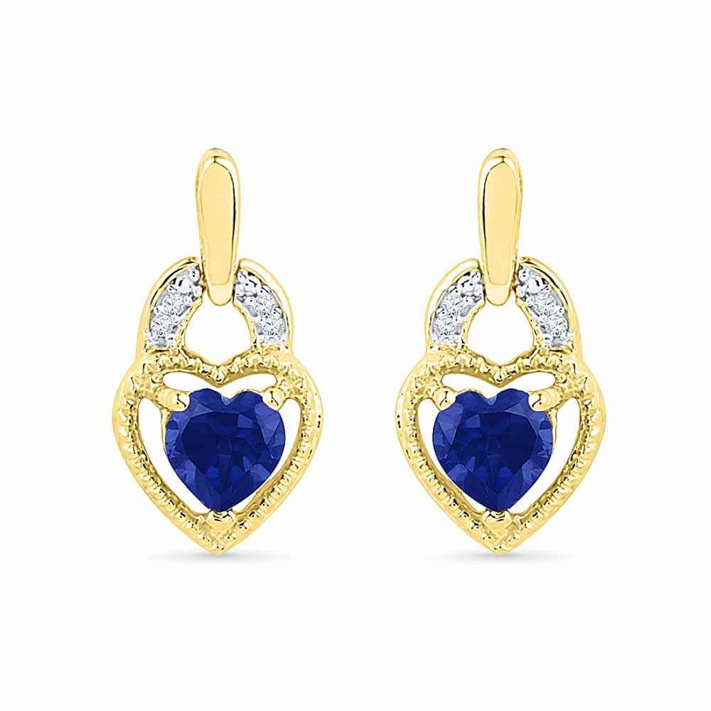 Angel Of My Heart Diamond Earrings