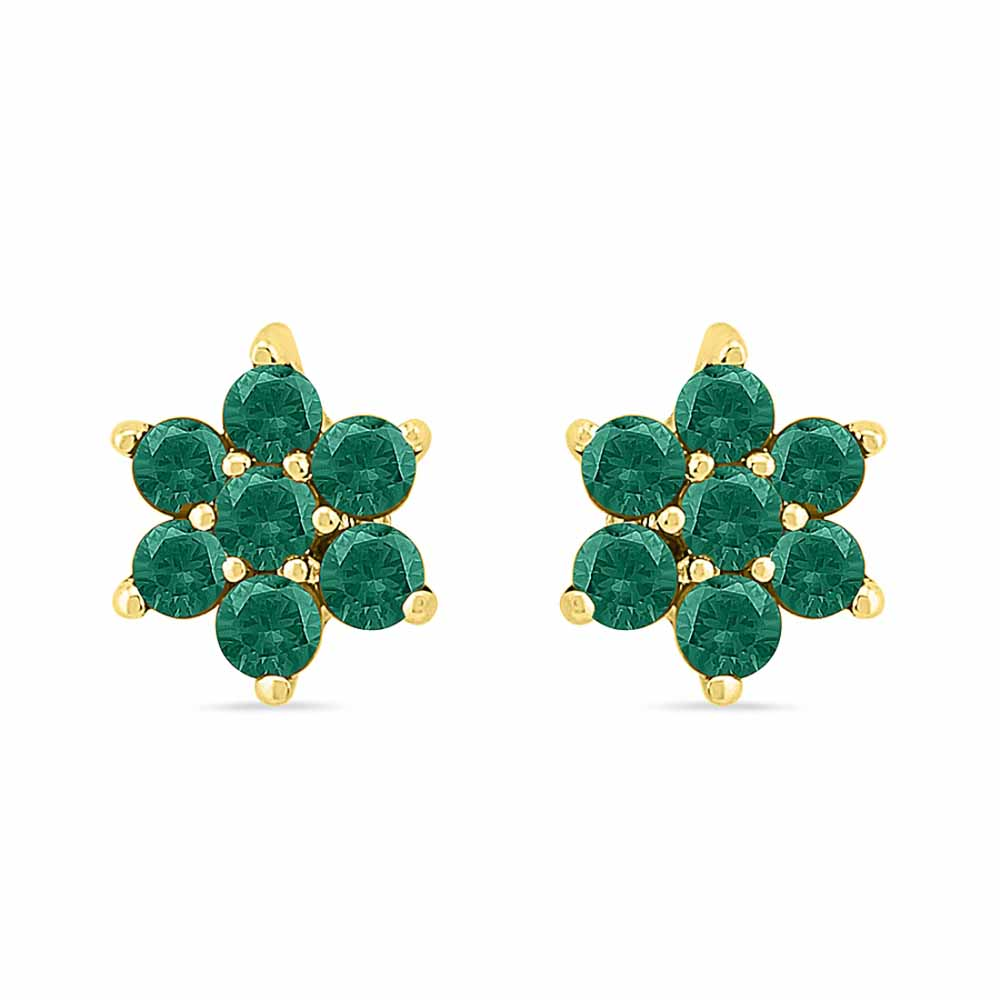 Wow Emerald Earrings