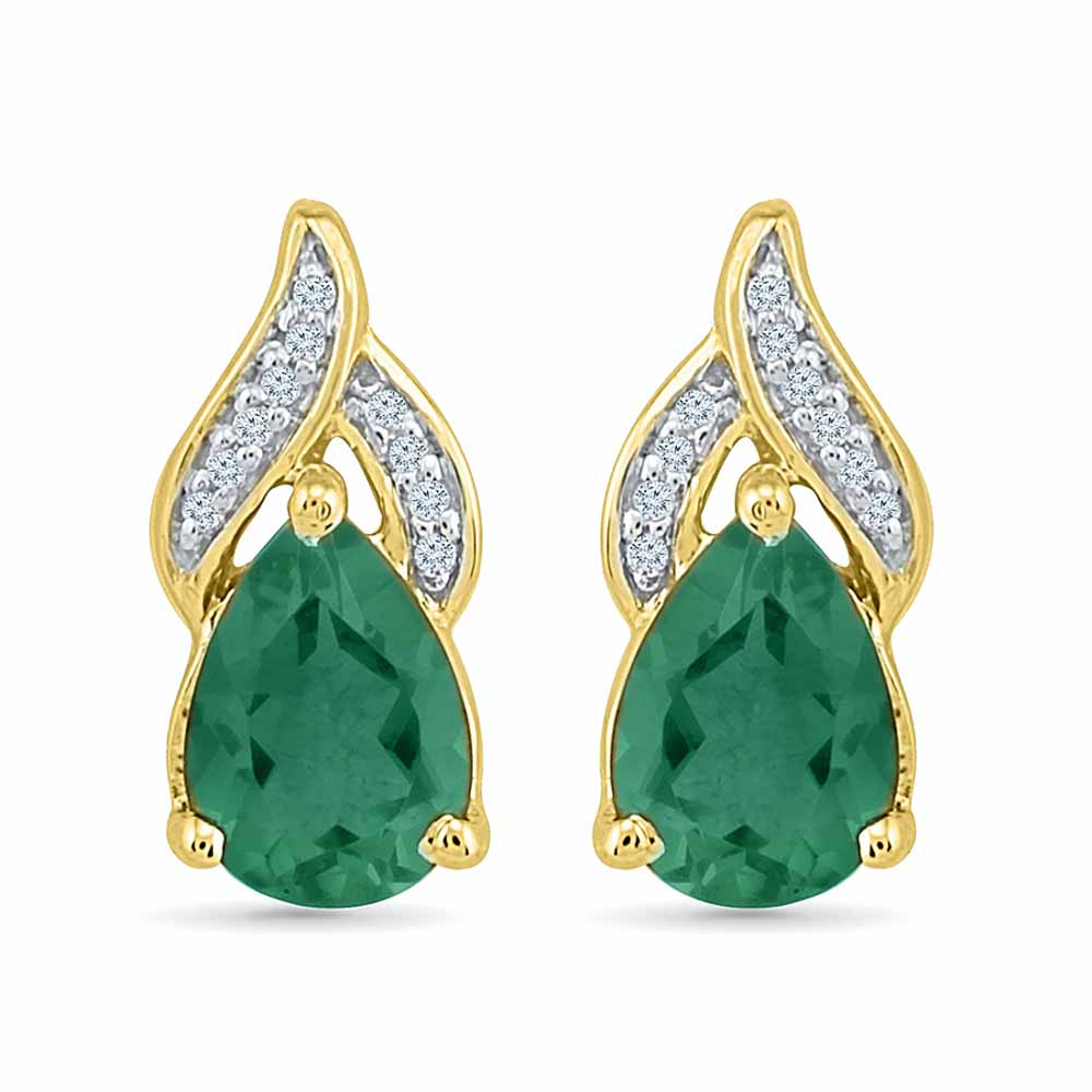 Fantastic Emerald Earrings