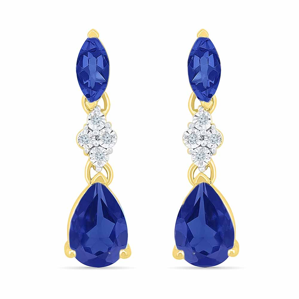 Deepest Passion Diamond Earrings