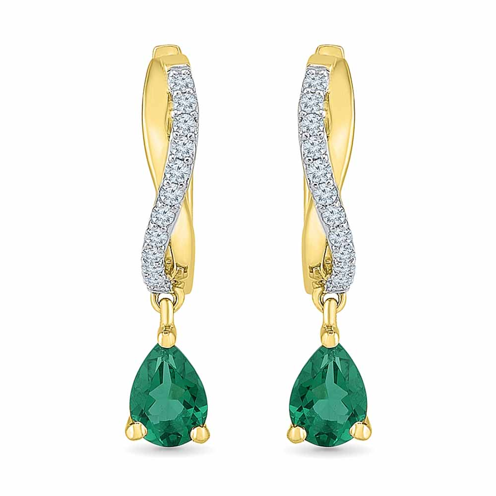 Passion Emerald Earrings